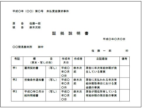 書証 - Documentary evidence - ...